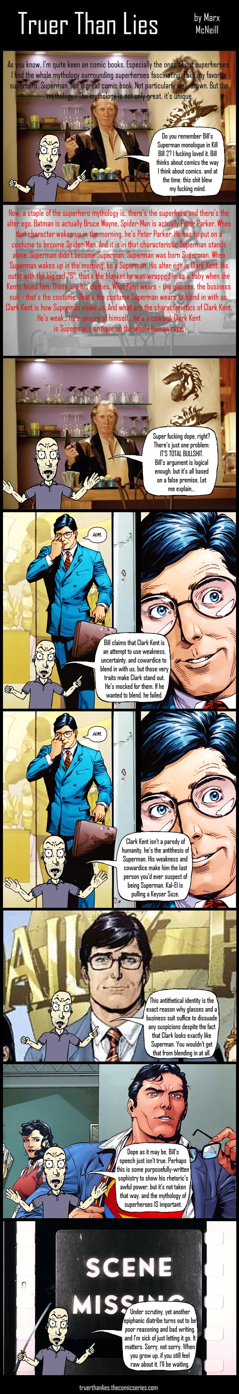 SUPERMAN AND KILL BILL 2