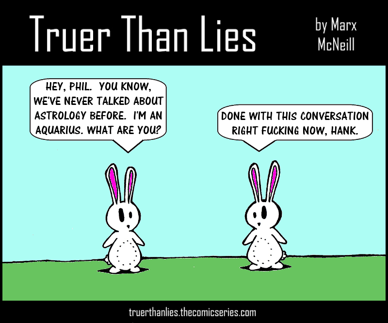 BUNNIES AND ASTROLOGY